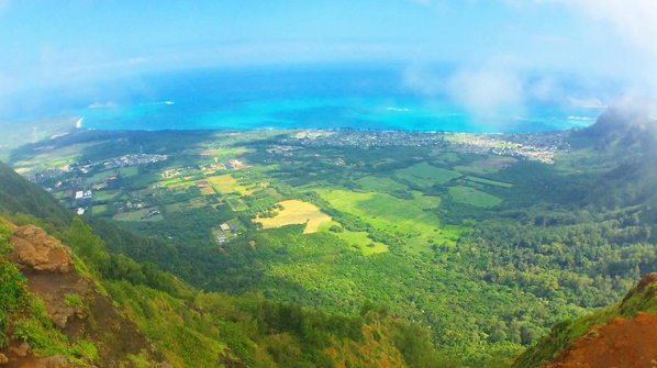 ハワイ HAWAII Kuliouou Ridge Hike ハイキング