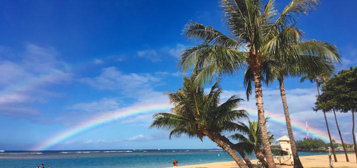 ハワイ HAWAII アラモアナ Alamoana Beach Park