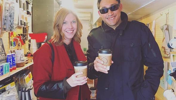 下北沢 カフェ 外国人 観光客 カナダ Shimokitazawa Coffee