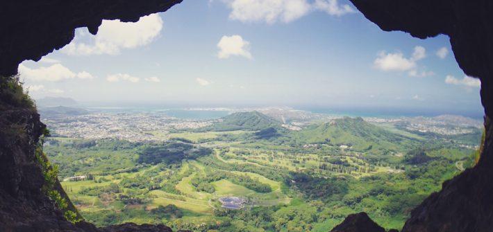 下北 カフェ ハワイ トレッキング PaliPuka Hike