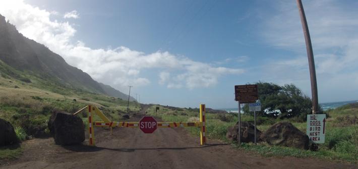 ハワイ HAWAII オアフ 島最西端 秘境 Ka'ena Point