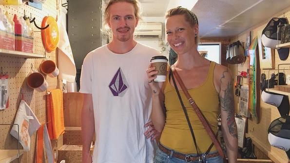 下北沢 カフェ 外国人 観光客 ノルウェー スウエーデン Shimokitazawa Coffee