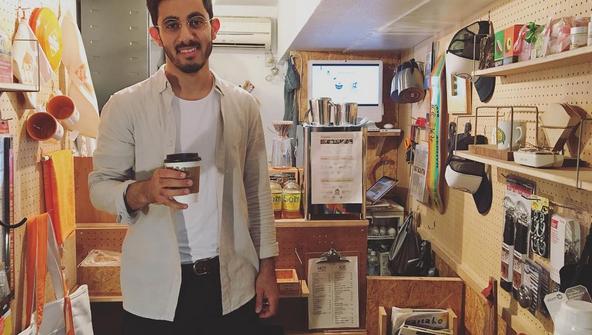 下北沢 カフェ コーヒー 外国人 観光客 Shimokitazawa Coffee サウジアラビア