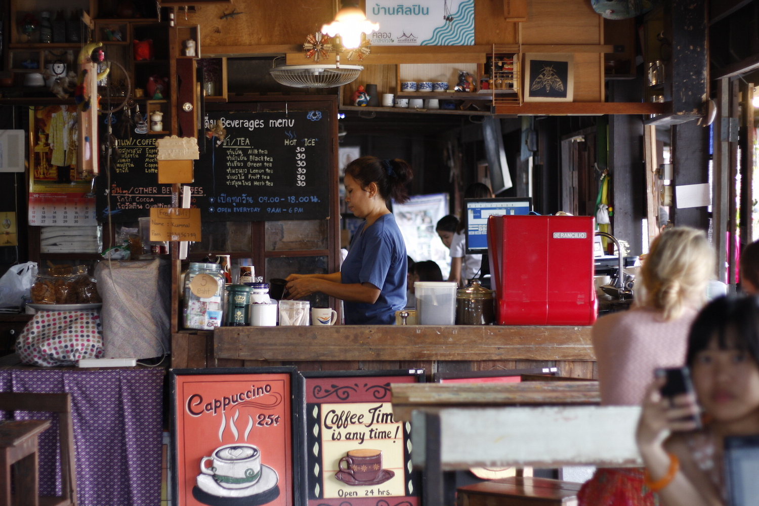 下北沢 カフェ URBAN LOCAL LIVIONG COFFEE Thailand BaanSilapin