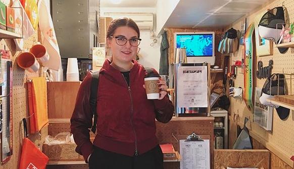 下北沢 カフェ URBAN LOCAL LIVINGコーヒー 外国人 観光客 Shimokitazawa Coffee Italian