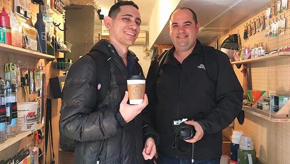 下北沢 カフェ URBAN LOCAL LIVINGコーヒー 外国人 観光客 Shimokitazawa Coffee Israel