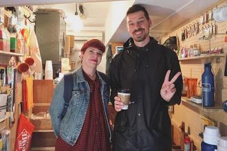 下北沢 カフェ URBAN LOCAL LIVINGコーヒー 外国人 観光客 Shimokitazawa Coffee San Francisco