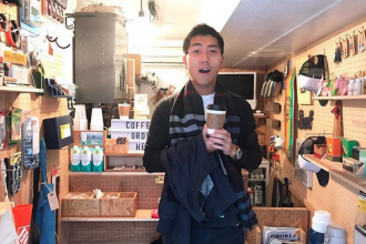 下北沢 カフェ URBAN LOCAL LIVINGコーヒー 外国人 観光客 Shimokitazawa Coffee Hong Kong