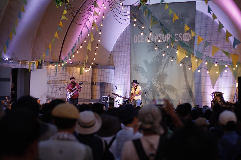 コーヒー ケータリング URBAN LOCAL LIVING 東京 タイ出張 タイコーヒー OCEAN PEOPLES 代々木公園 イベント