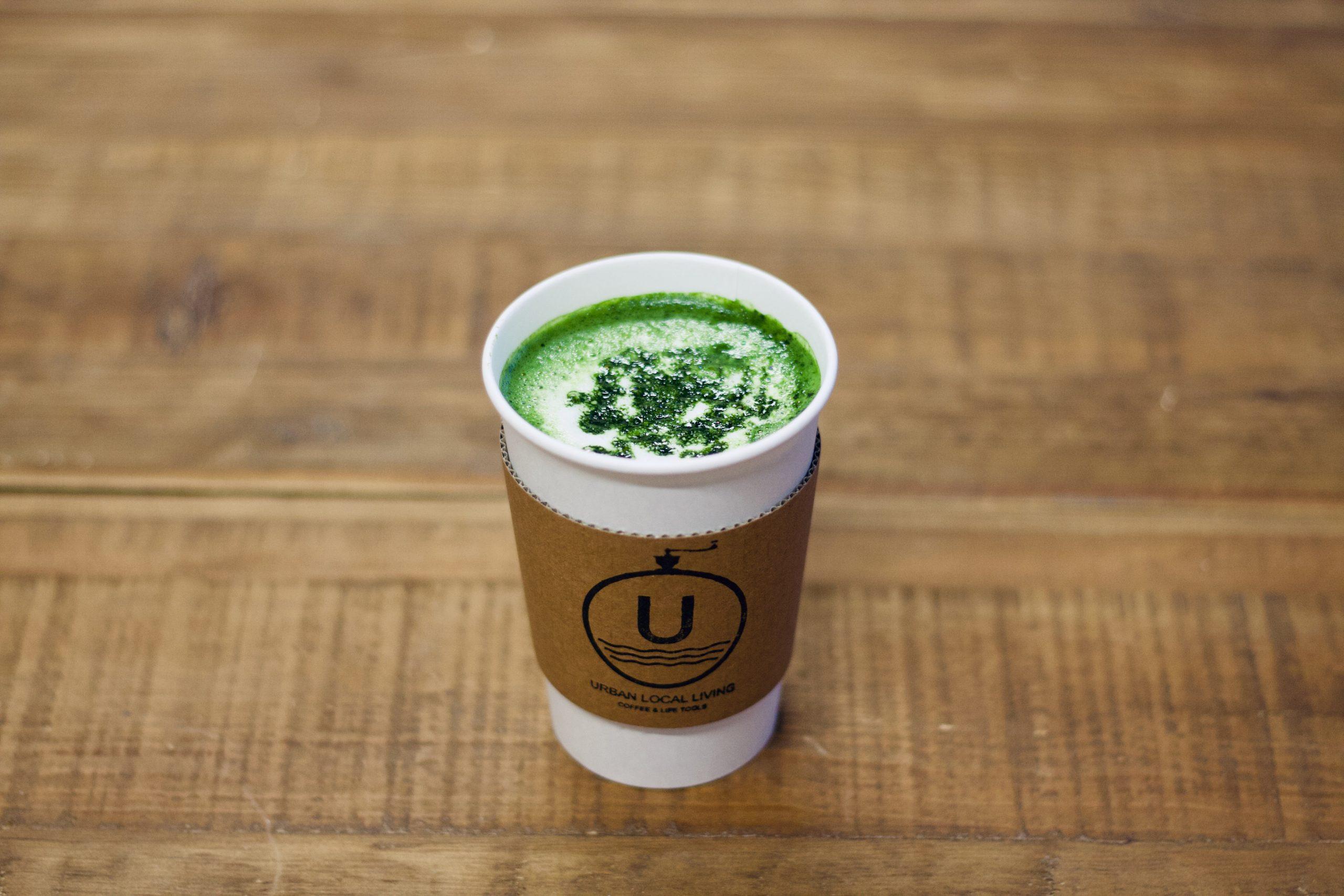 URBAN LOCAL LIVING 中目黒店 コーヒースタンド MATCHA MILK& MATCHA MILK LEMON
